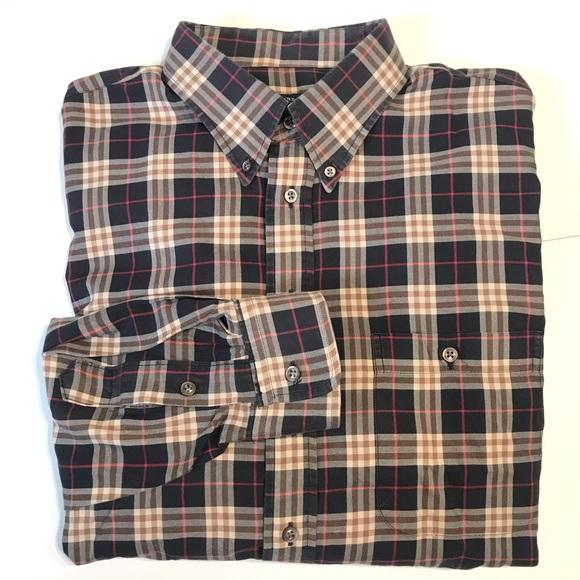 Burberry Other - Burberry XL Long Sleeve Nova Check Plaid Shirt
